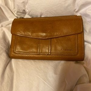 Fossil -leather wallet